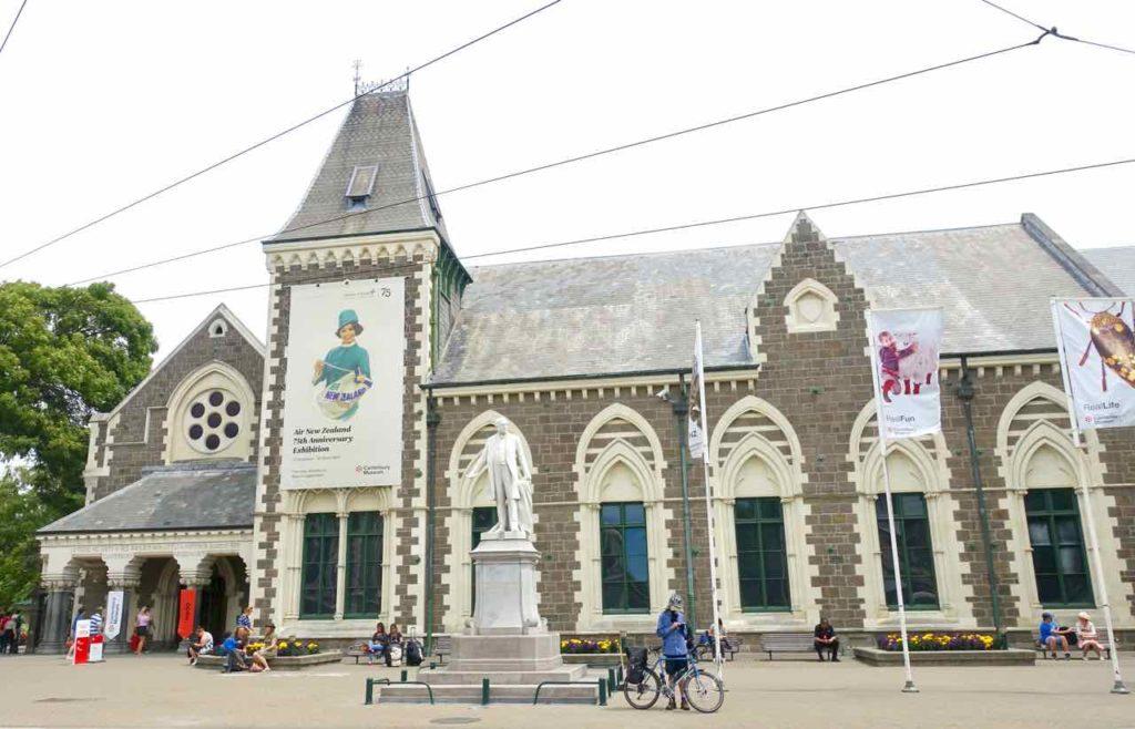 Christchurch Sehenswürdigkeiten Tipps: Canterbury Museum Neuseeland @PetersTravel