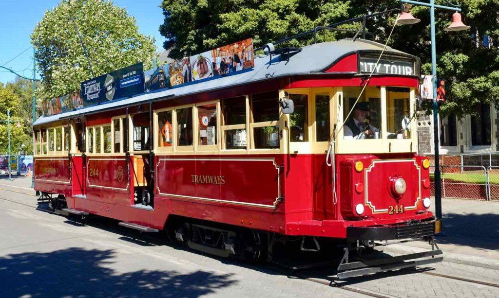 Christchurch Sehenswürdigkeiten Tipps: Historische Straßenbahn @PetersTravel