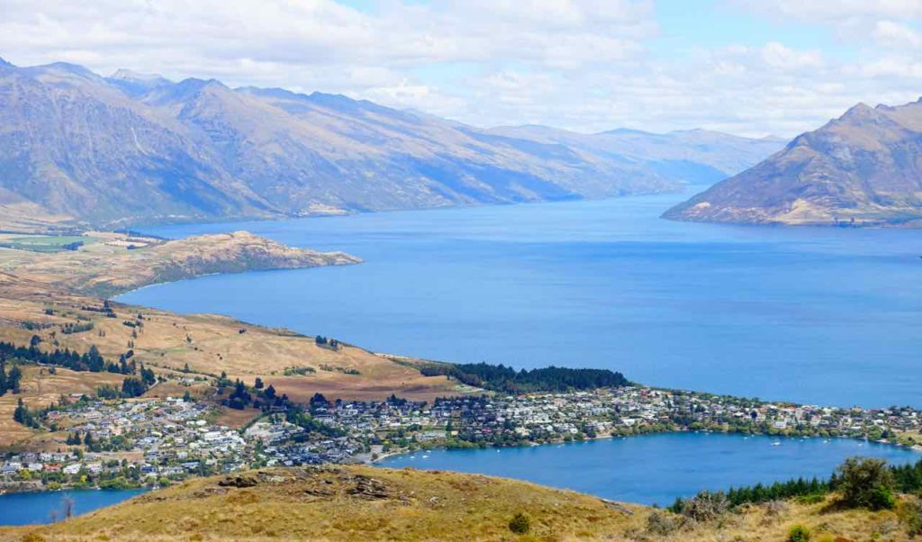 Queenstown Tipps: Aussicht vom Queenstown Hill Walk, Neuseeland, @PetersTravel