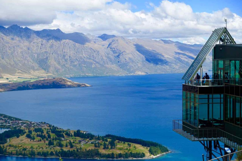 Queenstown Tipps: Bergstation der Gondola 1, Neuseeland, @PetersTravel