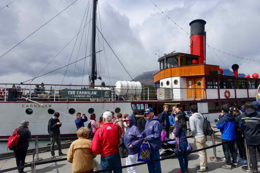 Queenstown Tipps: Dampferfahrt mit der TSS Earnslaw @PetersTravel