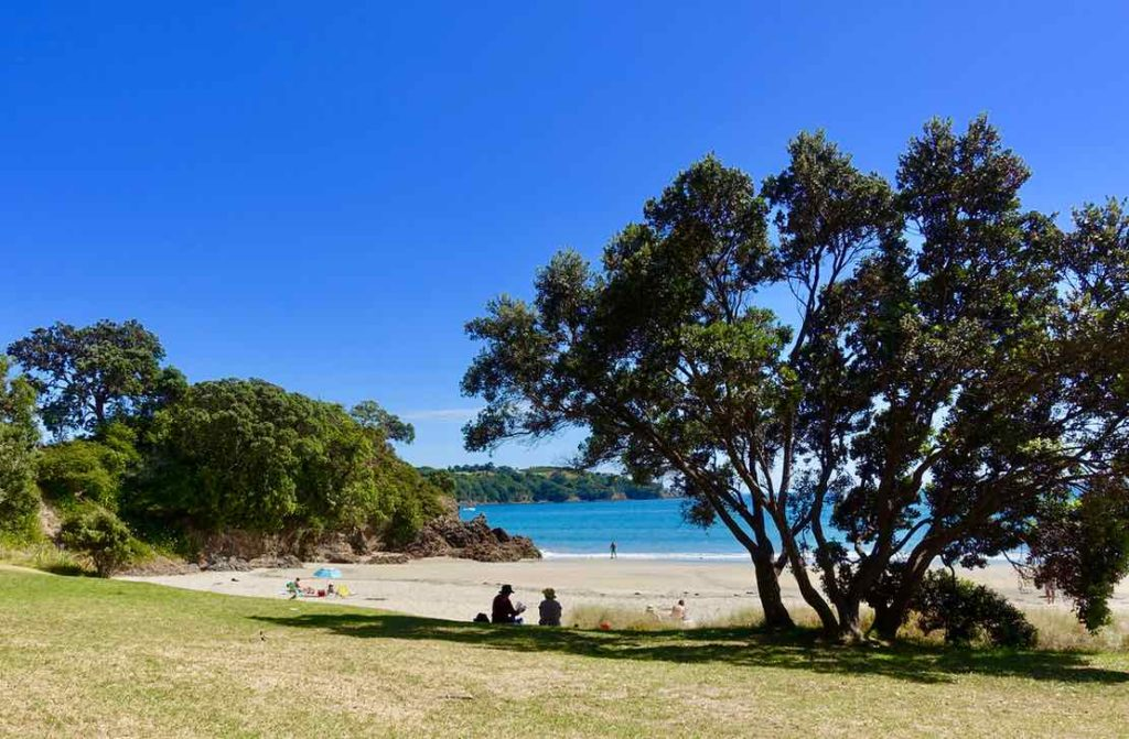 Waiheke Island, Little Oneroa Beach, Neuseeland, @PetersTravel