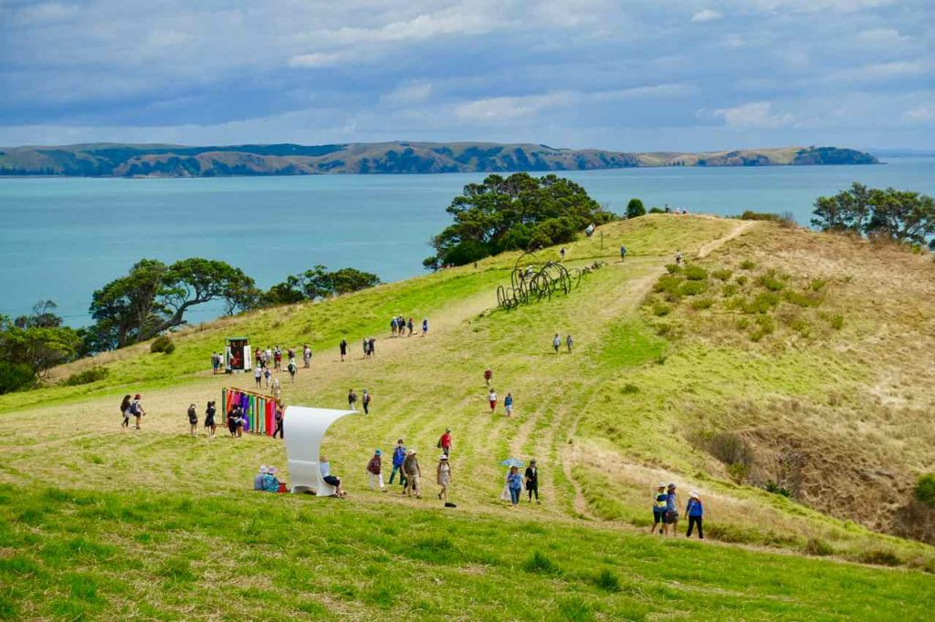 Waiheke Island, Sculpture Trail, Neuseeland, @PetersTravel