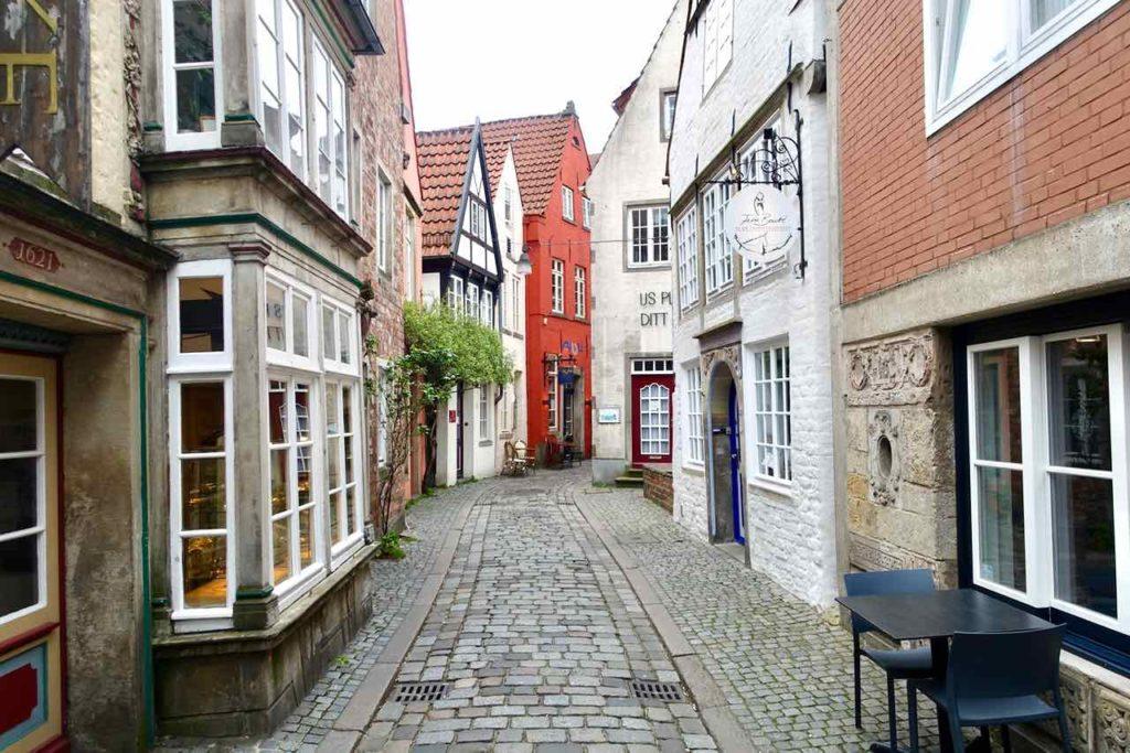 Bremens ältestes Viertel: Der Schnoor ©PetersTravel