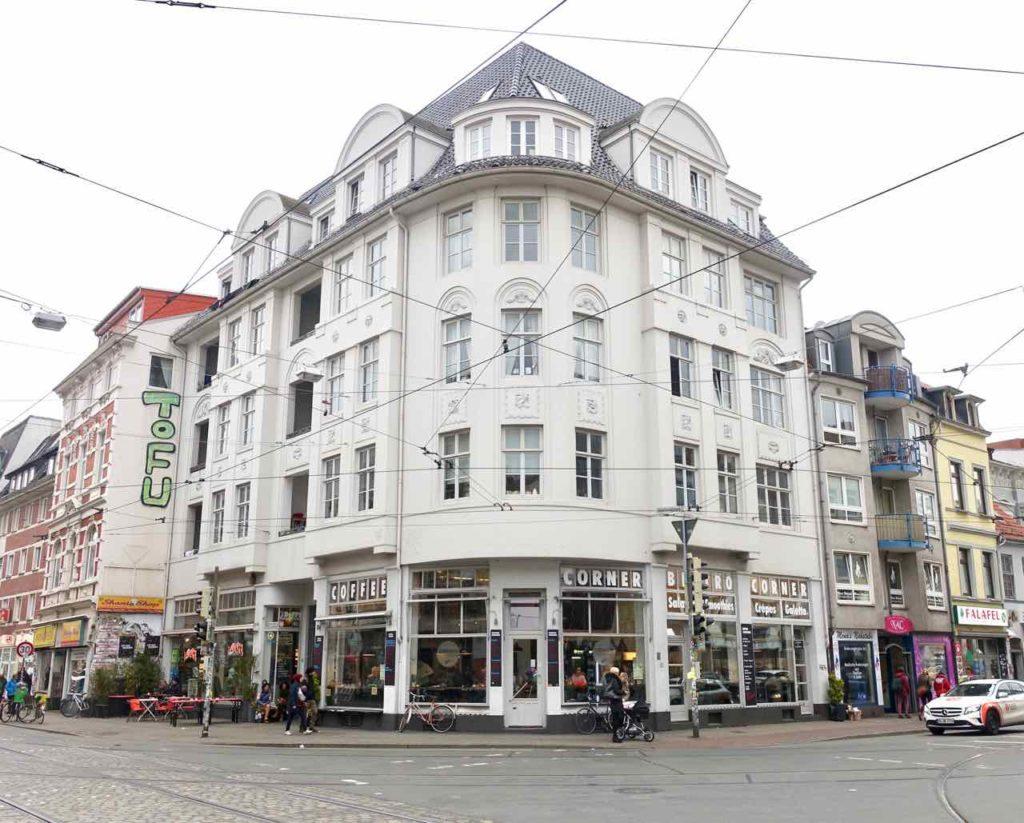 Szeneviertel Ostertor - Unterwegs in Bremens Viertel, Kreuzung © PetersTravel