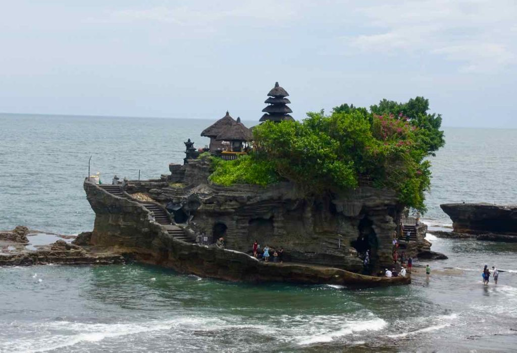Tanah Lot Bali: Blick von der Sunset Terrace ©PetersTravel