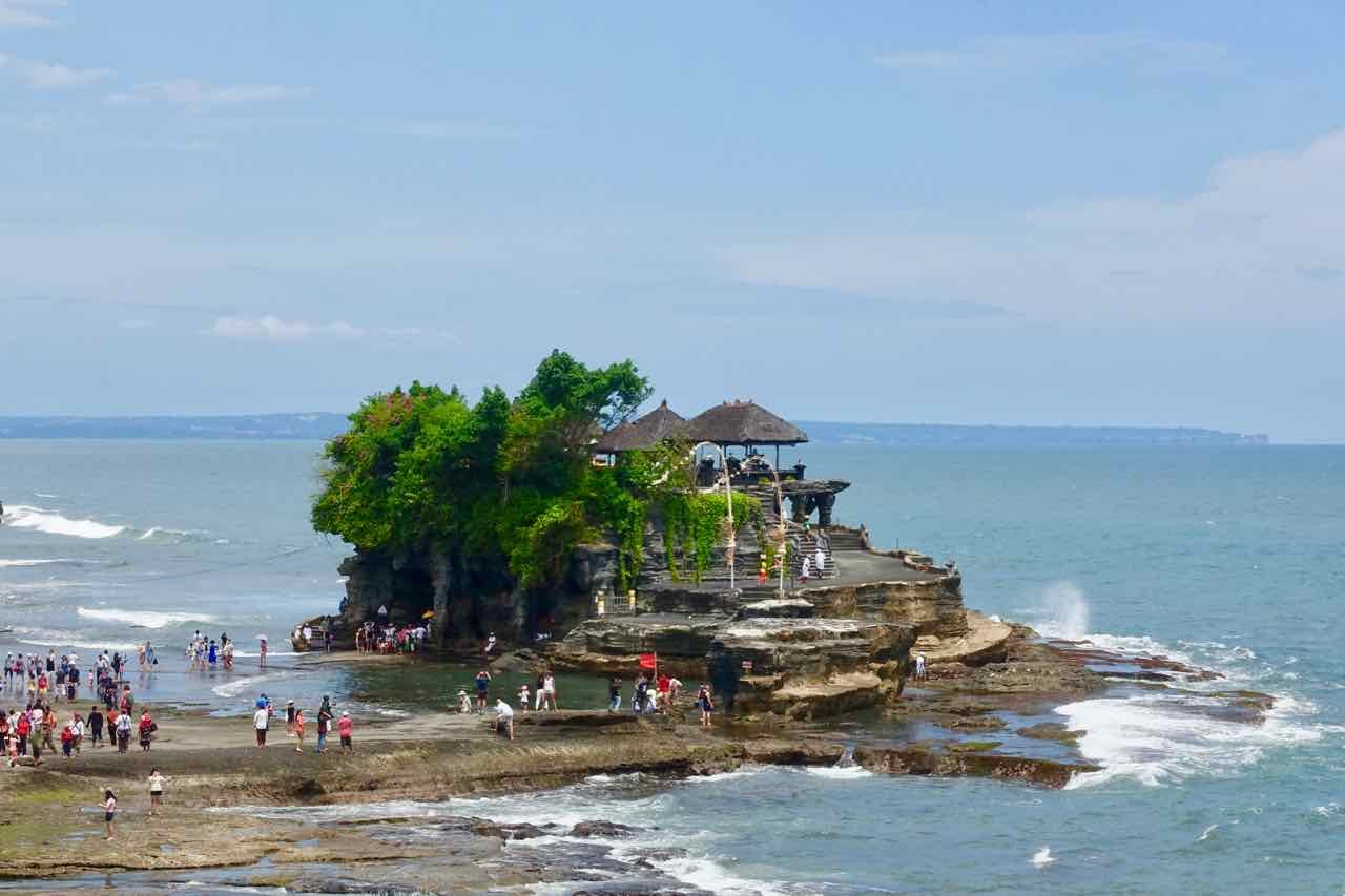Tanah Lot Bali, Titelbild, Indonesien, ©PetersTravel
