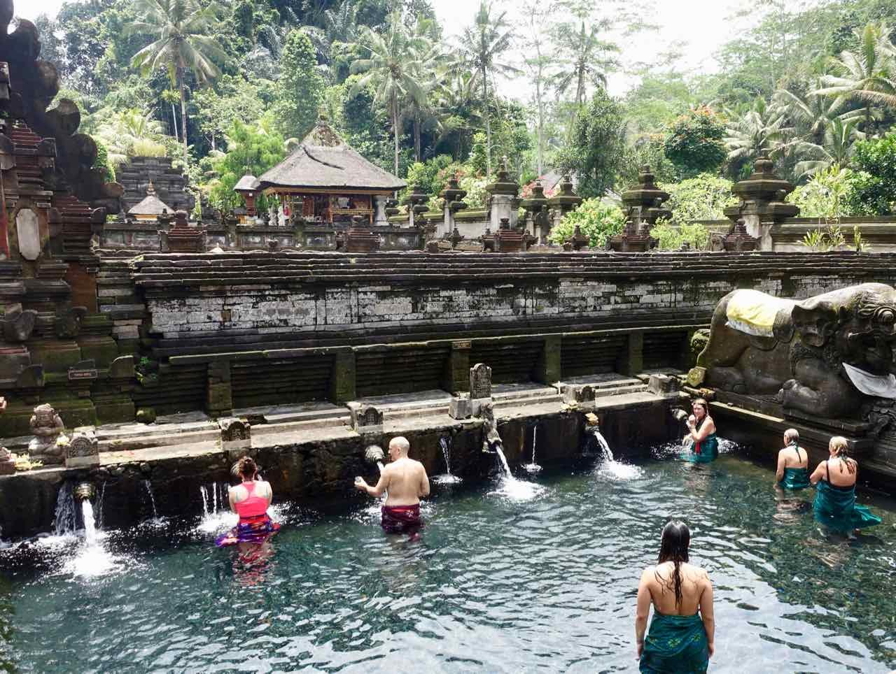 Tirta Empul Tempel, Wallfahrtsort auf Bali Titelbild, ©PetersTravel