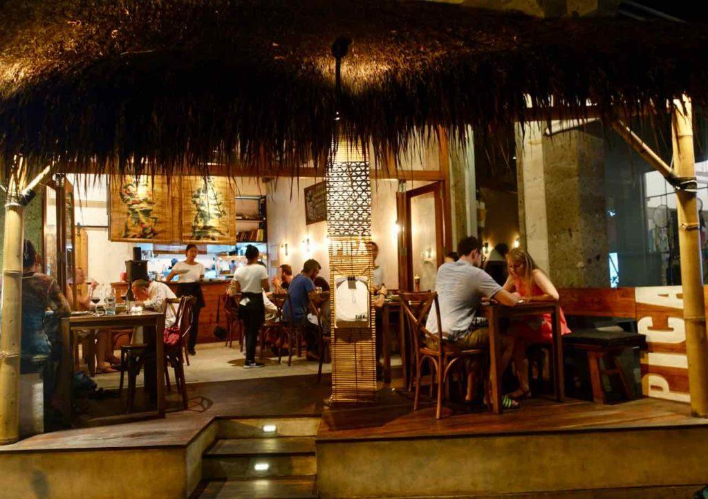 Ubud Restaurants: Das Pica South American Kitchen wirkt unscheinbar, hat mich aber rundum überzeugt! Bali ©PetersTravel