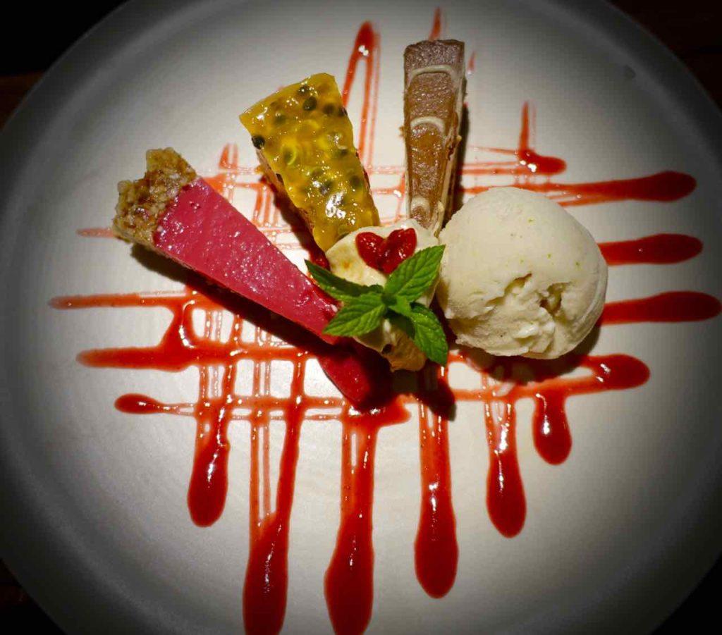 Ubud Restaurants: Dessert Sweet Symphony im Moksa, Bali ©PetersTravel