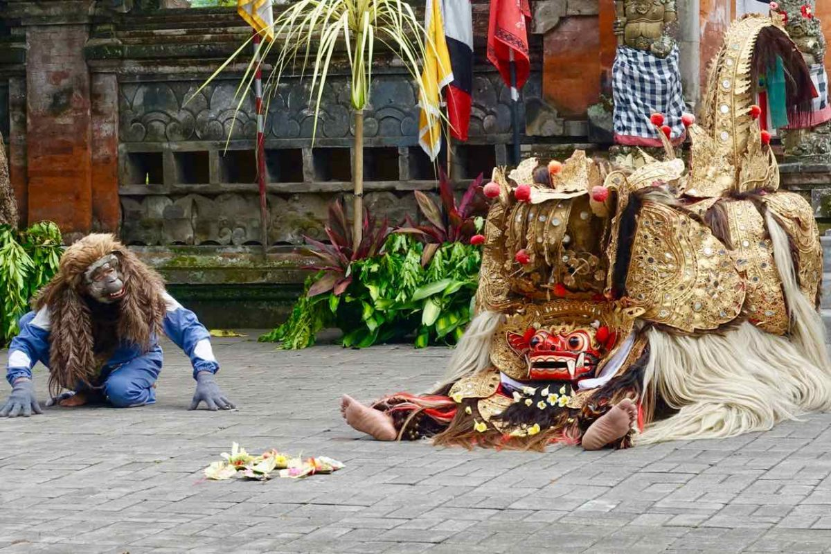 Barong Tanz Bali in Batubulan Titelbild ©PetersTravel