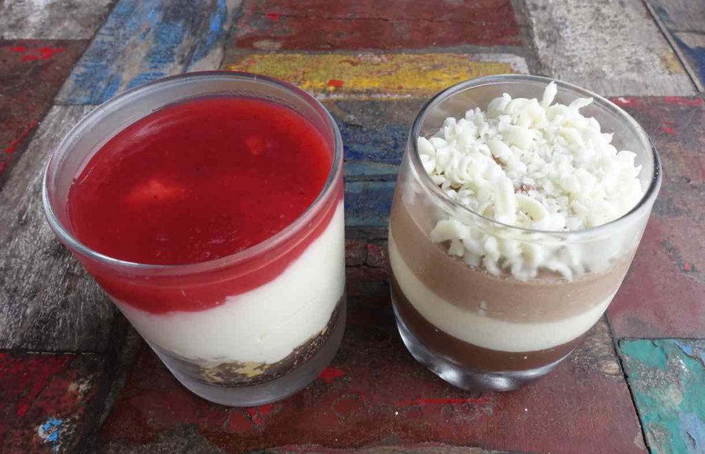 Strawberry Cheesecake & Triple Chocolate (Sunrise Restaurant) - Allerdings aus meinem Beitrag über Gili Air ©PetersTravel