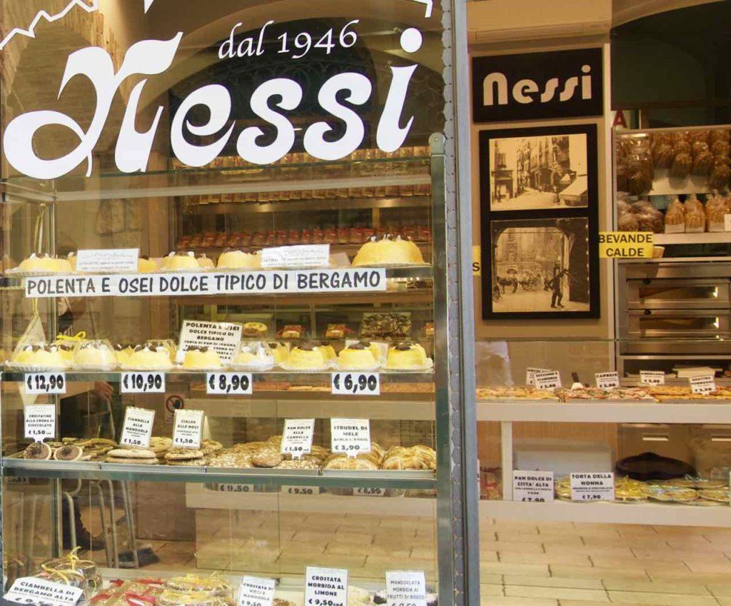Bergamo Tipps Sehenswürdigkeiten Bäckerei Messi ©PetersTravel