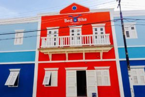 Hostel Bed and Bike in Willemstad, Curacao Copyright Peter Pohle