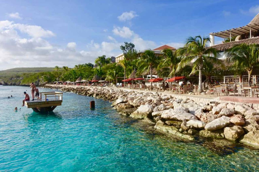 Karakter Beach im Coral Estate, Curacao, Copyright Peter Pohle