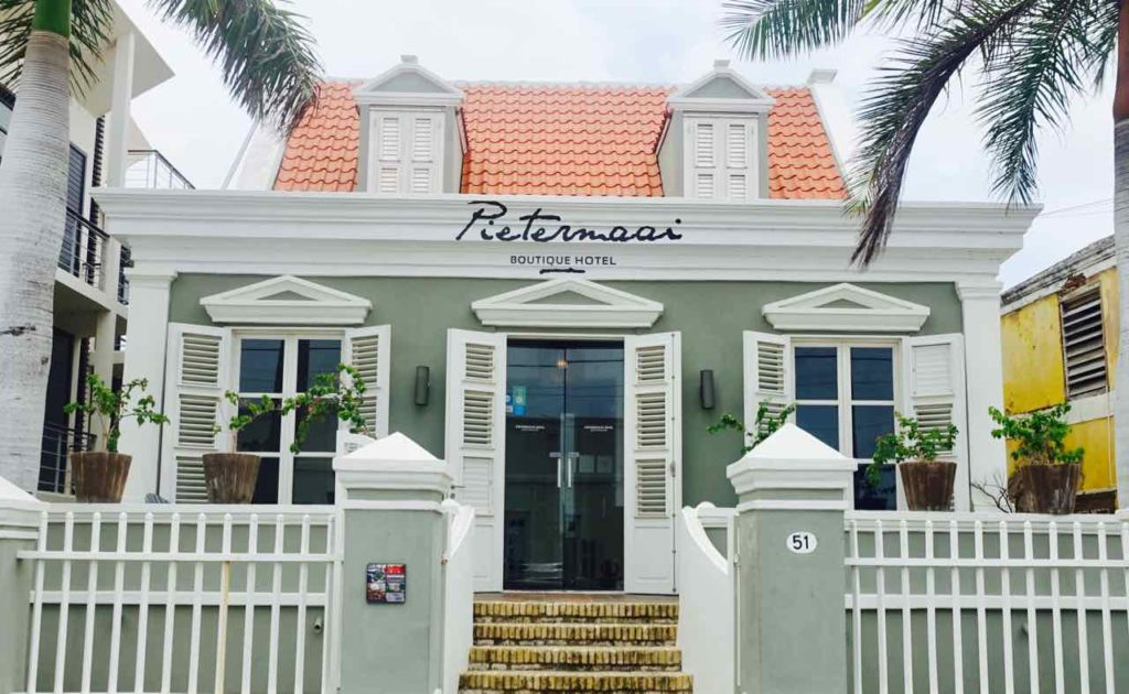 Pietermaai Boutique Hotel in Willemstad, Curacao Copyright Peter Pohle