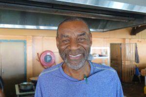Plasa Bieu: John Tweed vom Un Grasia de Dios in Willemstad, Curacao Copyright Peter Pohle