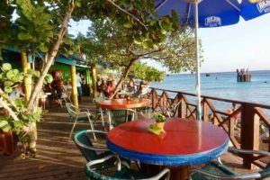 Willemstad Restaurants: Pop's Place in Caracas Baai, Curacao Copyright Peter Pohle