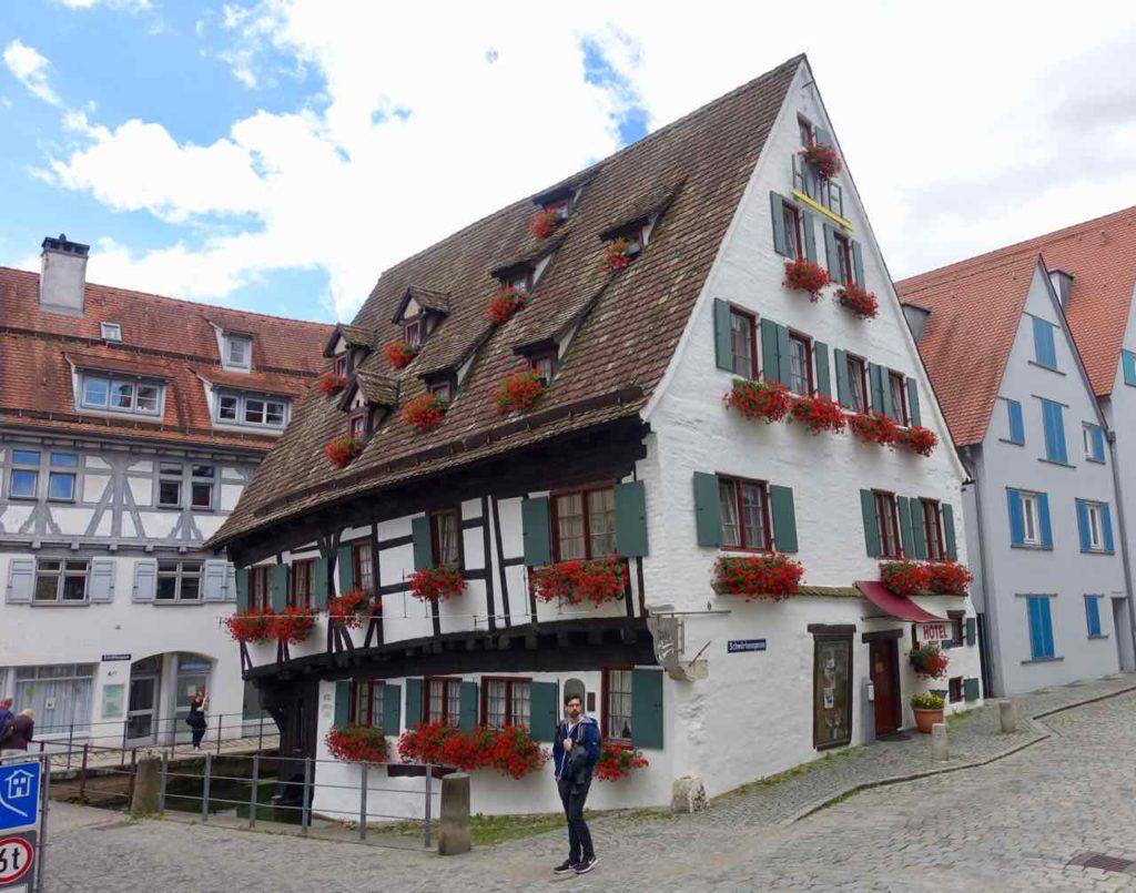 Ulm, Hotel Schiefes Haus im Fischerviertel Copyright Peter Pohle Peterstravel