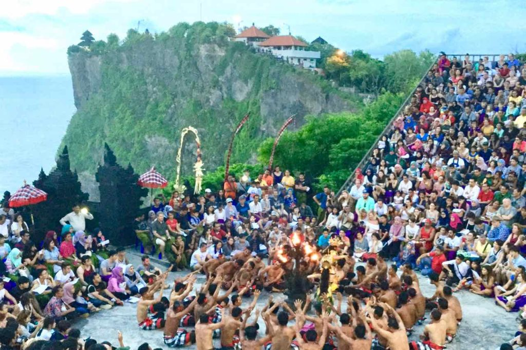 Uluwatu Tempel Bali Kecak and Fire Dance Copyright Peter Pohle