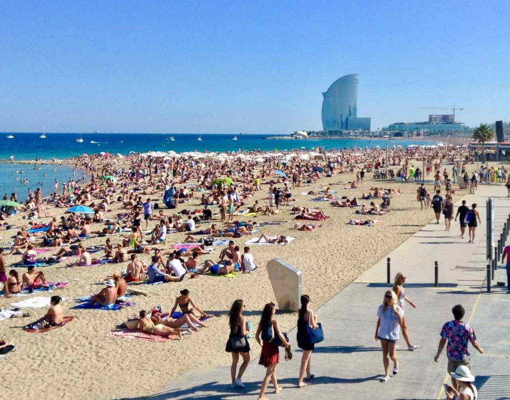 Barcelona Tipps: Barceloneta Copyright PetersTravel