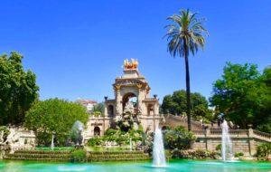 Barcelona Tipps und Sehenswürdigkeiten: Brunnen im Parc Ciutadella Copyright PetersTravel