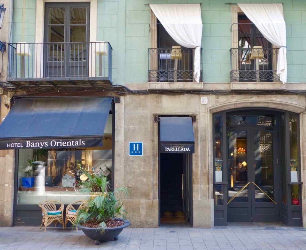 Barcelona Tipps Hotel Banys Orientals und Restaurant Parellada Copyright PetersTravel