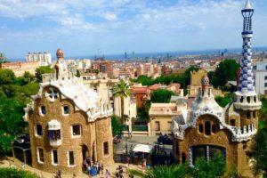 Barcelona Tipps zu Sehenswürdigkeiten: Park Güell, Wohnhaus Gaudí und Pförtnerhaus Copyright PetersTravel