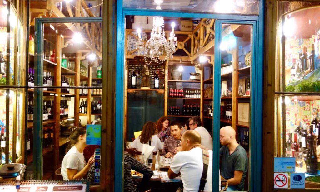Barcelona Tipps und Sehenswürdigkeiten: Restaurant Orogin im Born Copyright PetersTravel