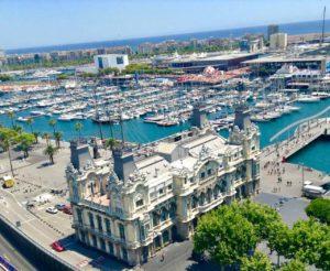 Barcelona Tipps Sehenswürdigkeiten: Blick von der Kolumbussäule, Copyright PetersTravel