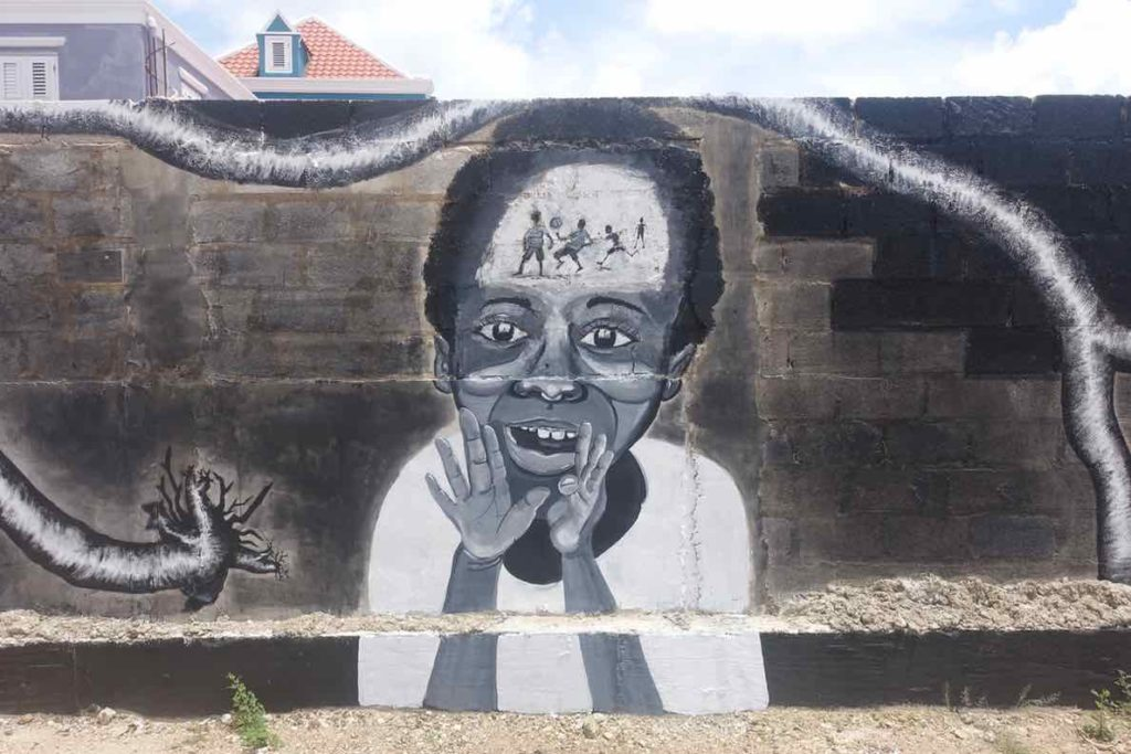 Street Art in Curacao, Willemstad-Otrobanda Copyright Peter Pohle PetersTravel