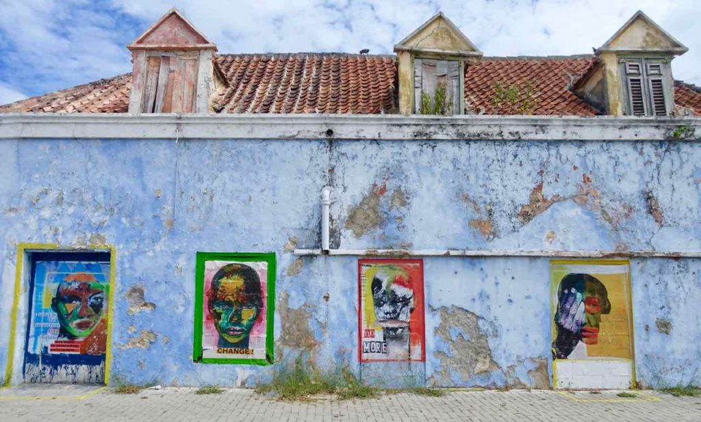 Street Art in Curacao, Willemstad-Scharloo von Alex da Silva, Copyright Peter Pohle PetersTravel