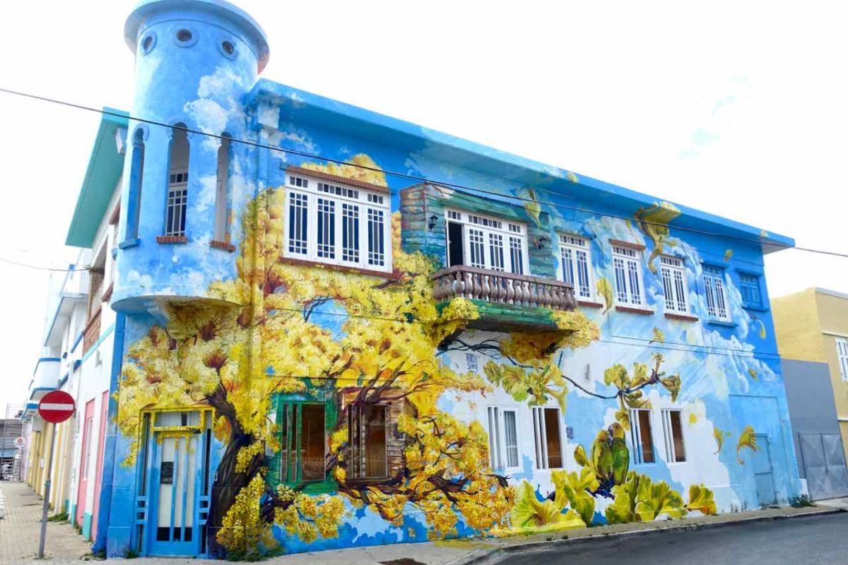 Street Art in Curacao, Willemstad-Scharloo, von Francis Sling Copyright Peter Pohle PetersTravel