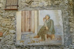 Highlights in Ligurien Fresko in Apricale Copyright Peter Pohle PetersTravel