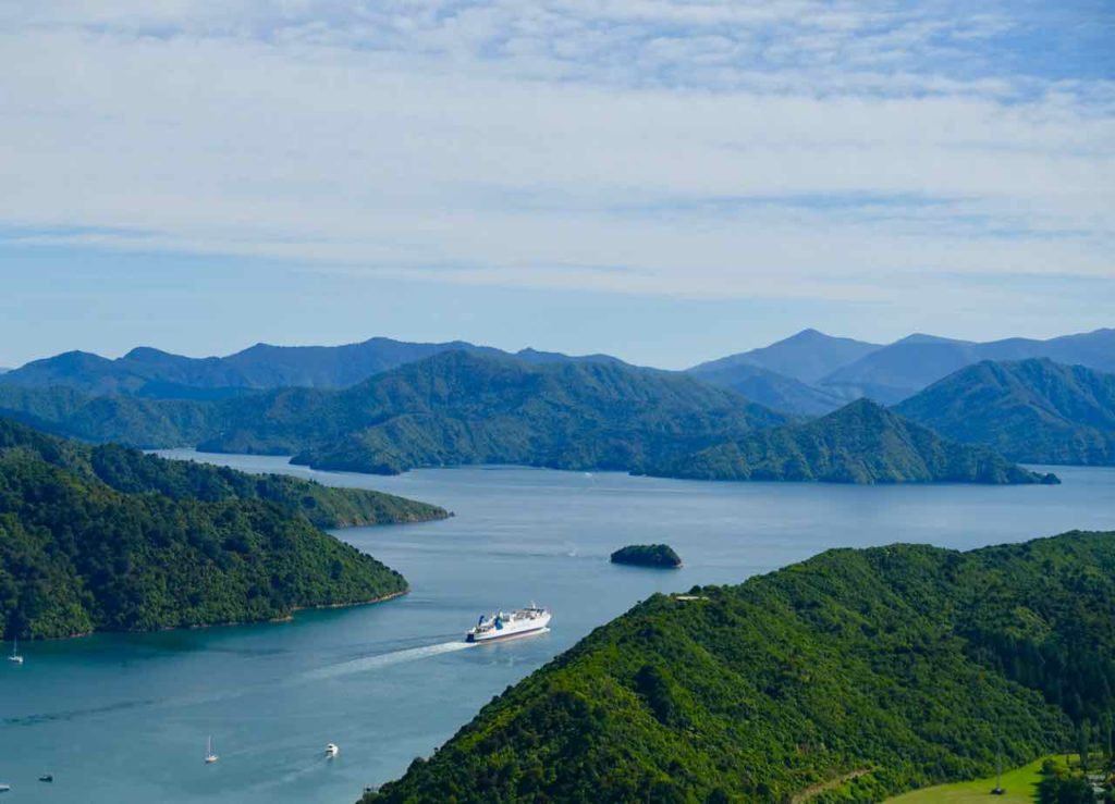 Picton Neuseeland: Queen Charlotte Sound Copyright Peter Pohle PetersTravel