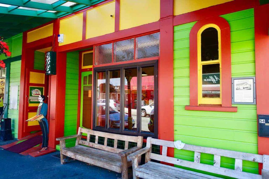 Takaka, Golden Bay, Eisdiele auf der Commercial St