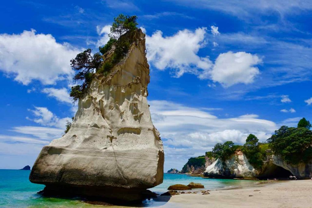 Coromandel Halbinsel, Cathedral Cove, Neuseeland Copyright Peter Pohle PetersTravel