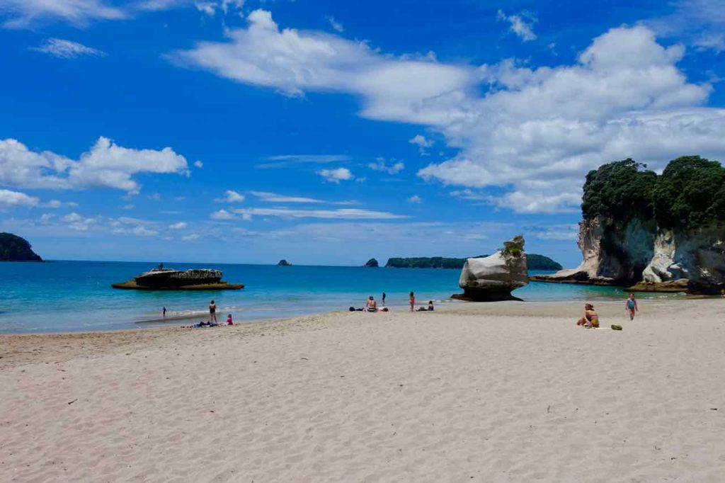 Coromandel Halbinsel, Cathedral Cove Strand, Neuseeland Copyright Peter Pohle PetersTravel