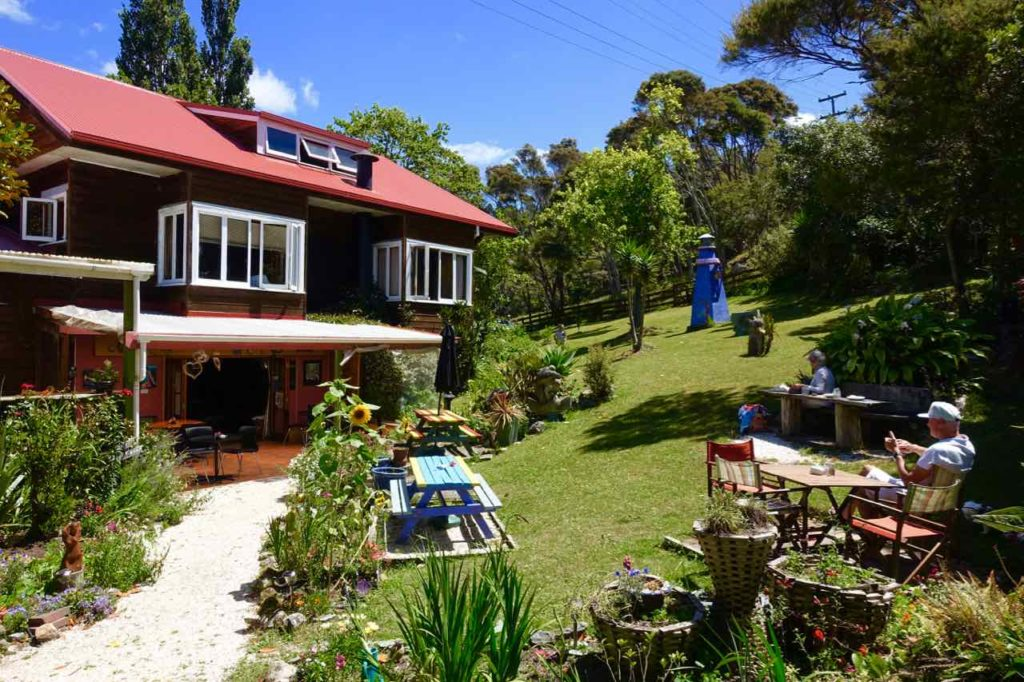 Coromandel Halbinsel, Eggsentric Café, Neuseeland Copyright Peter Pohle PetersTravel