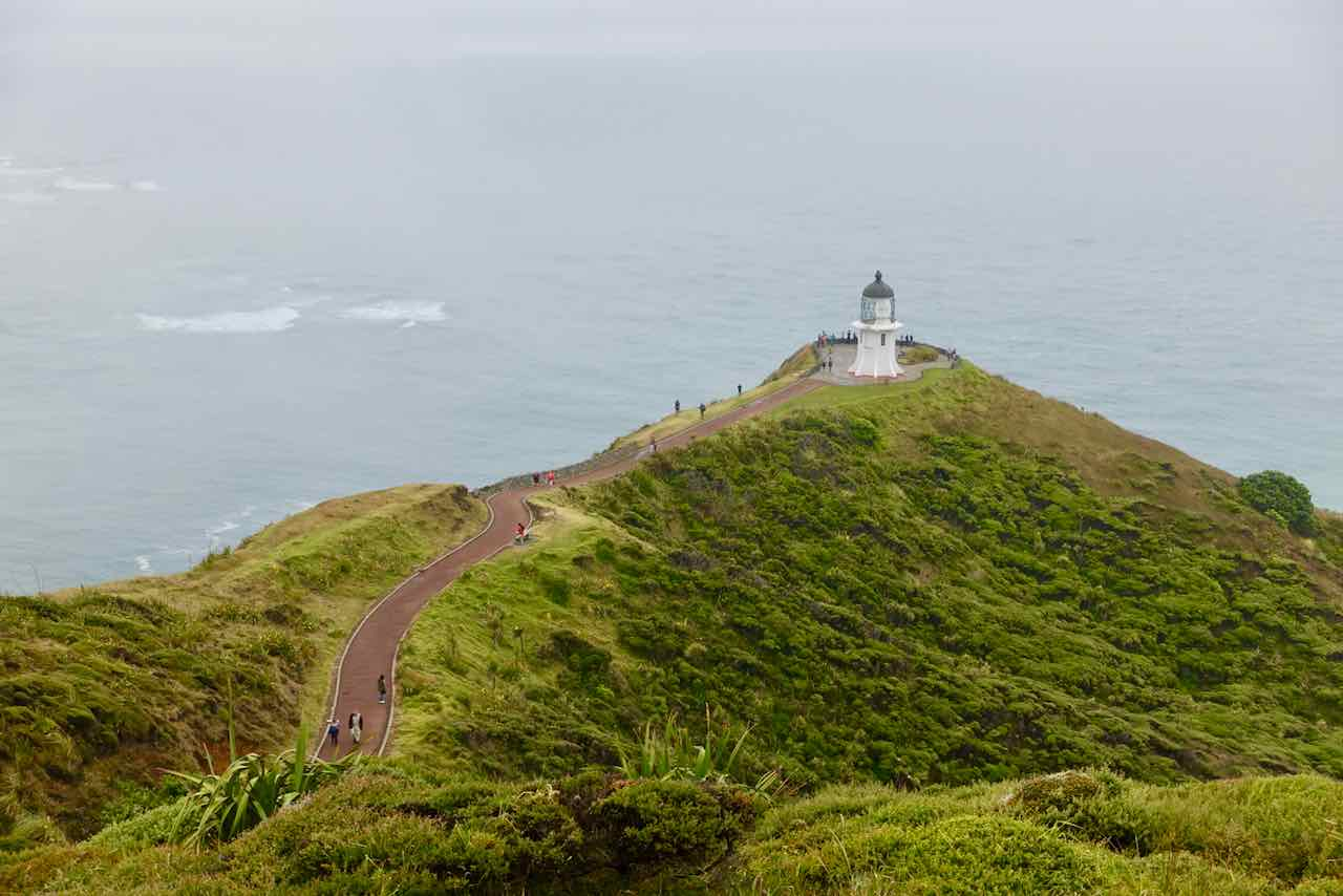Paihia Tipps, Cape Reinga mit Leuchtturm Copyright Peter Pohle PetersTravel