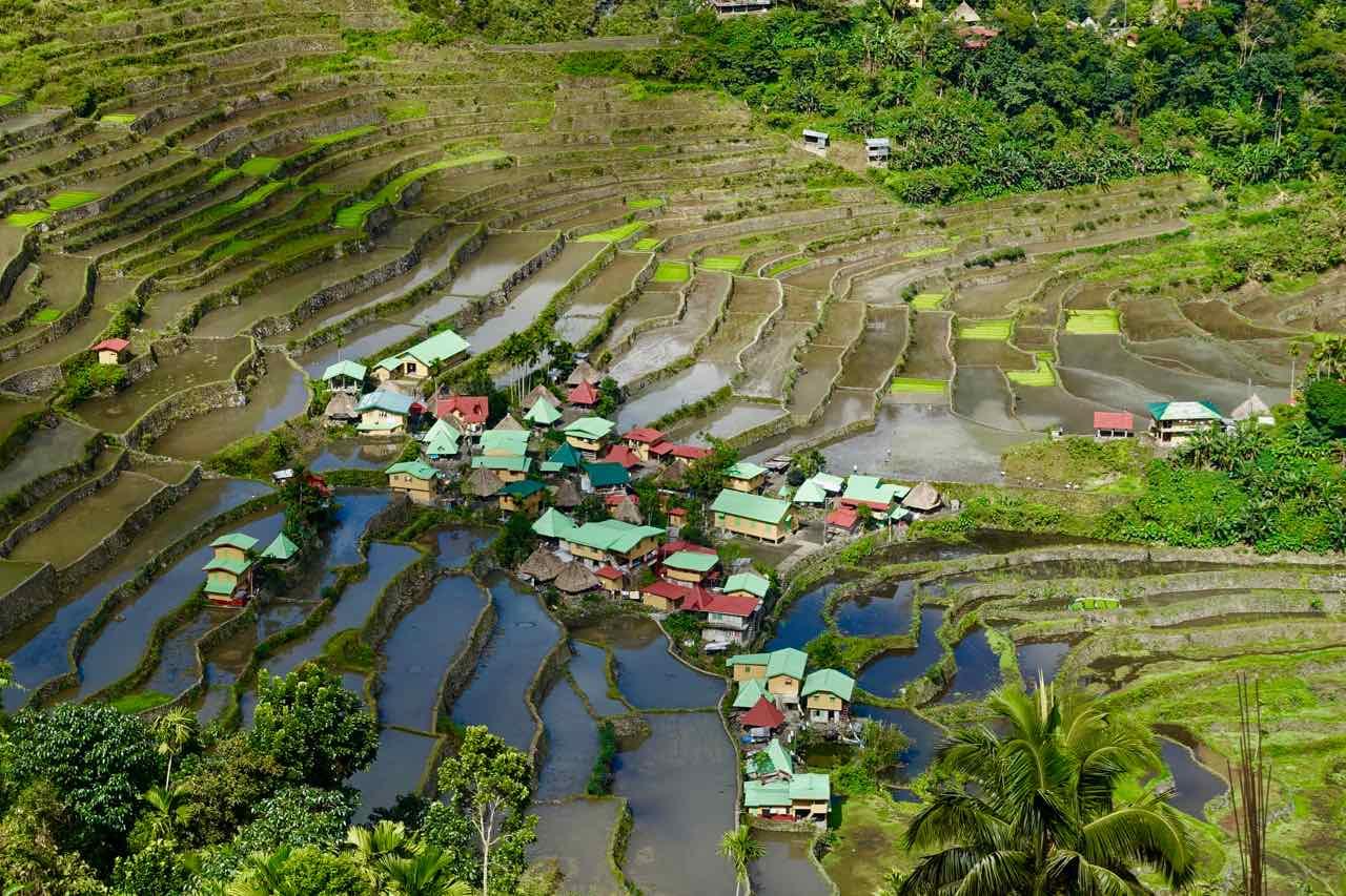 Batad auf den Philippinen, Ort in Talsenke Titelbild Copyright Peter Pohle