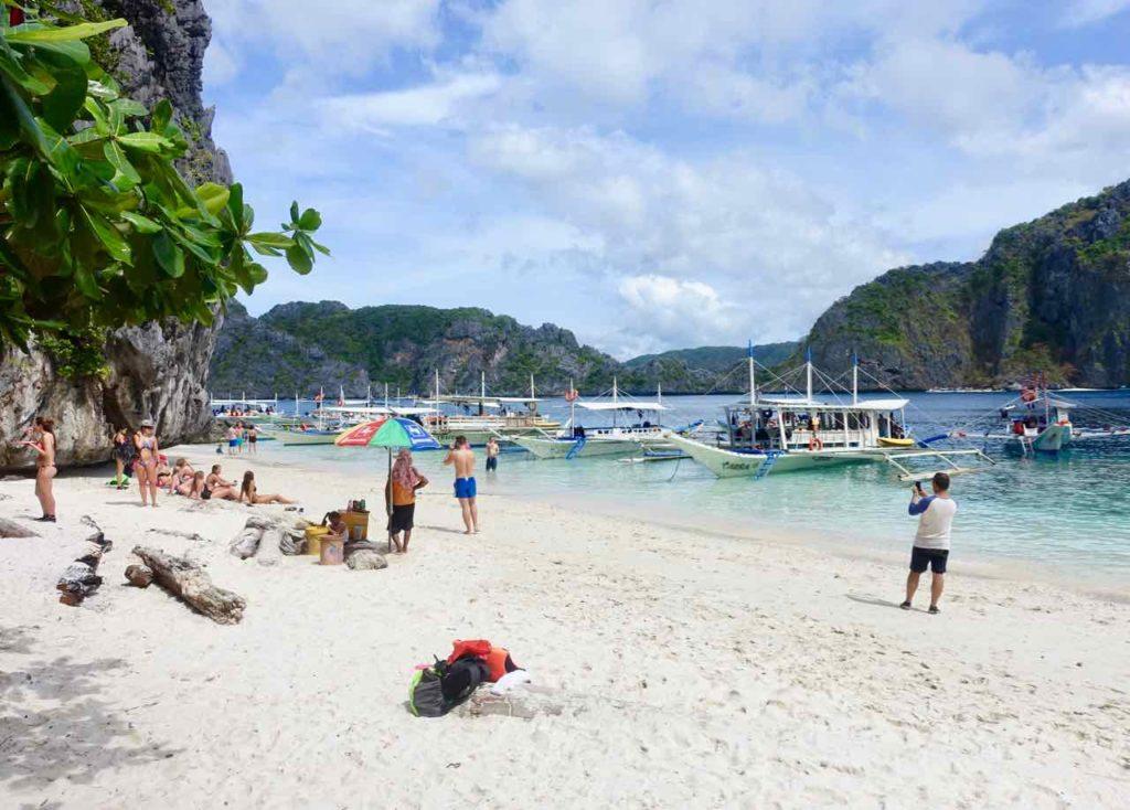 Bootsausflug von El Nido, Palawan, Philippinen Copyright Peter Pohle PetersTravel