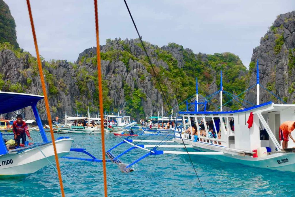 El Nido Bootstour, Palawan, Philippinen Copyright Peter Pohle PetersTravel