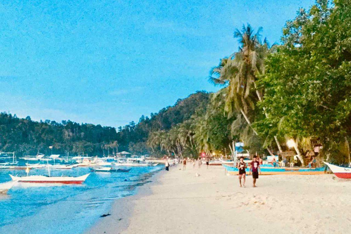 Port Barton Palawan, Strand, Philippinen Copyright Peter Pohle PetersTravel