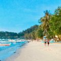 Port Barton Palawan, Strand, Philippinen Copyright Peter Pohle PetersTravel