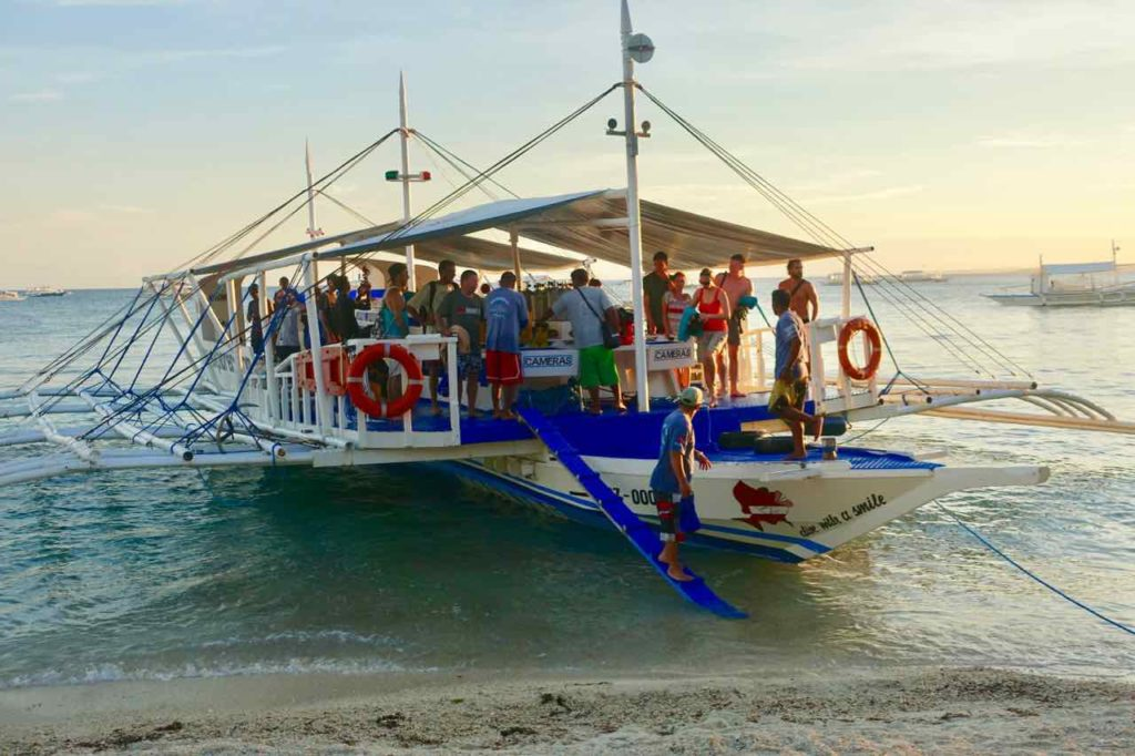 Malapascua Island, Ausflugsboat Copyright Peter Pohle PetersTravel