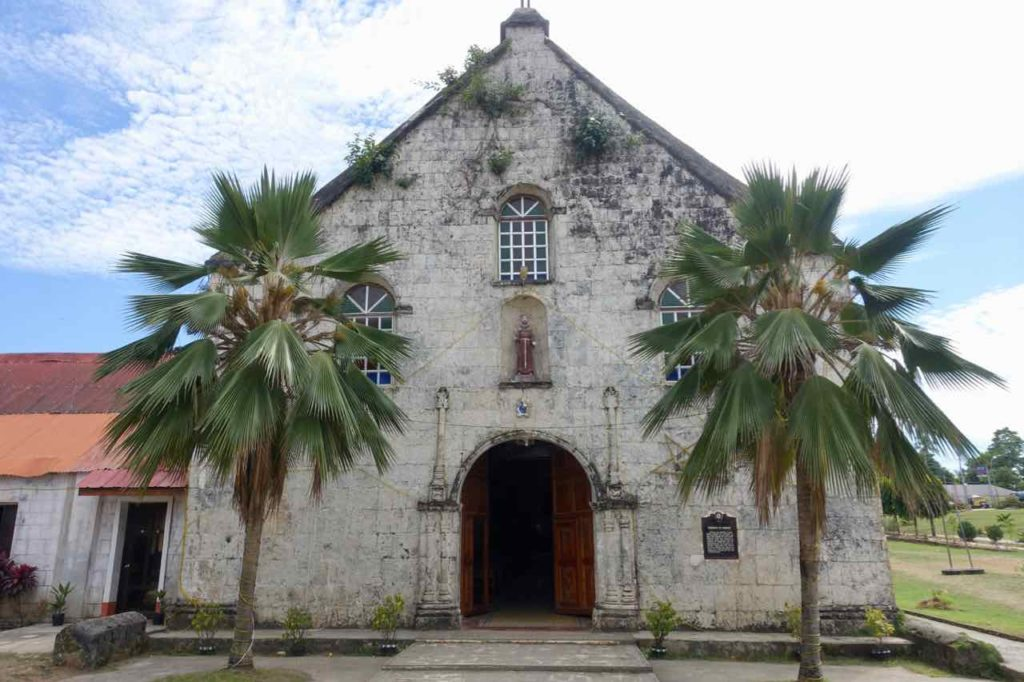 Siquijor Island, St Francis de Assisi Church Außen