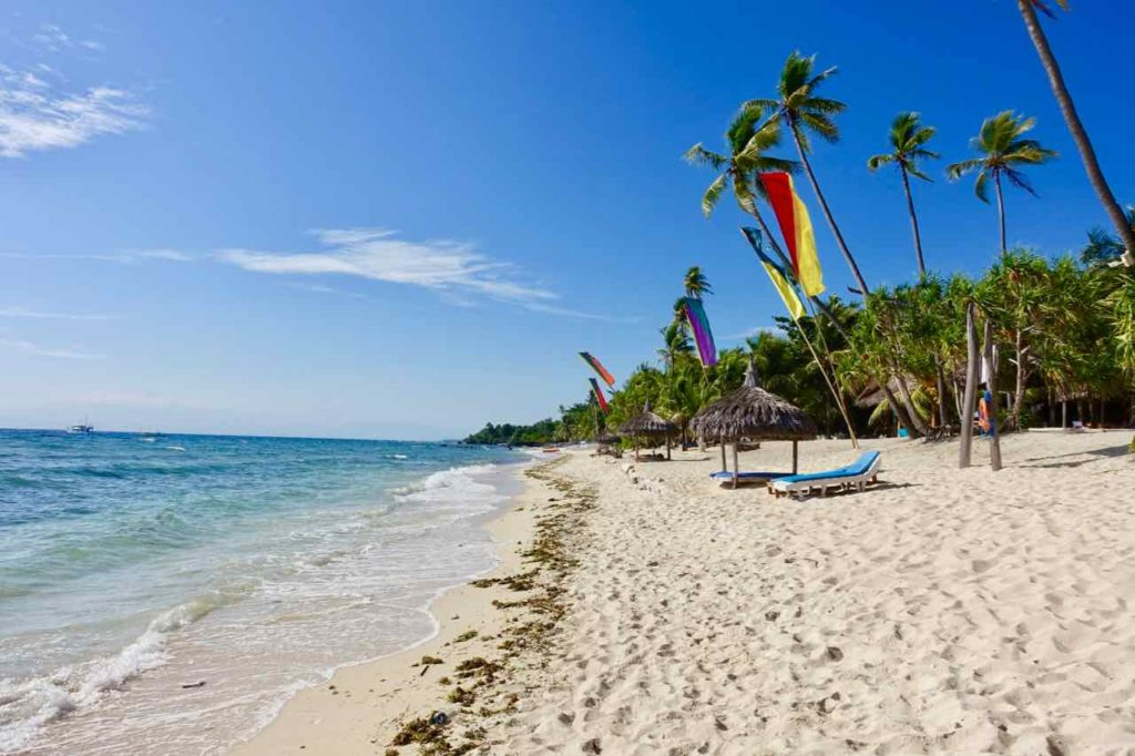 Siquijor Island, Strand beim Coco Grove Beach Resort Copyright Peter Pohle PetersTravel