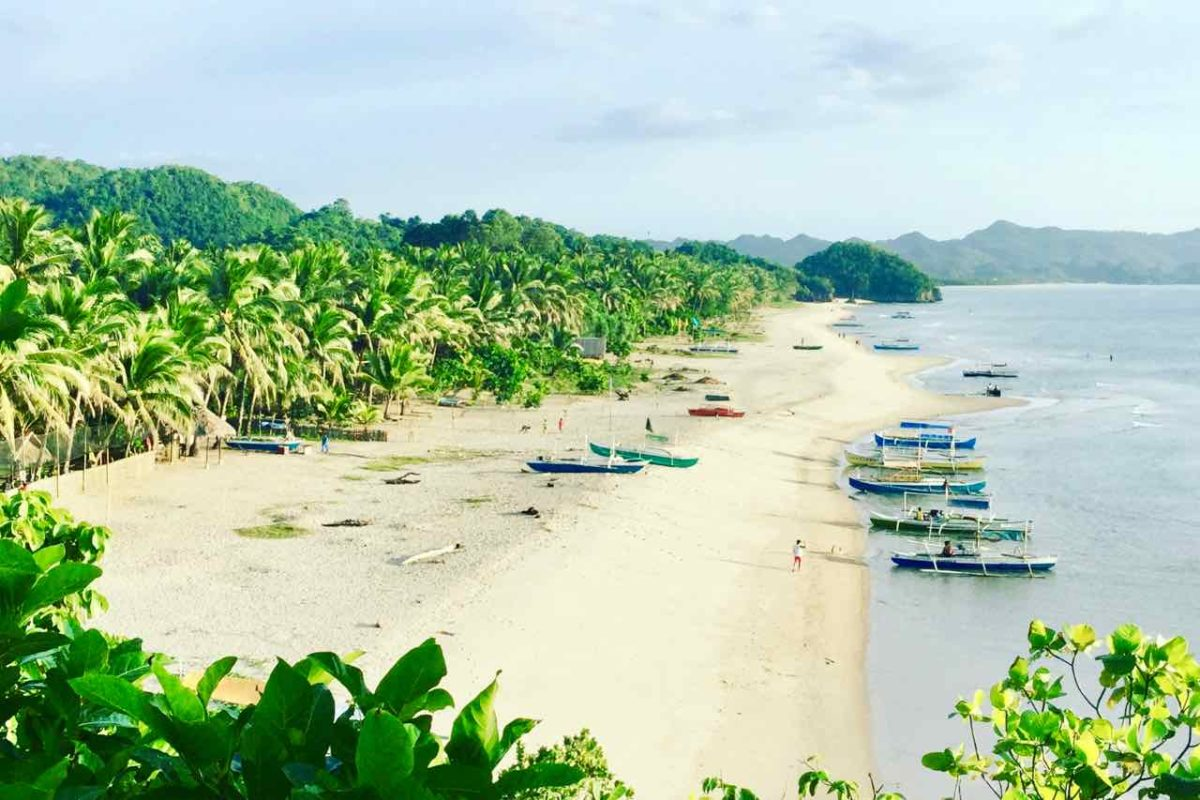 Sugar Beach, Sipalay auf Negros Titelbild Copyright Peter Pohle
