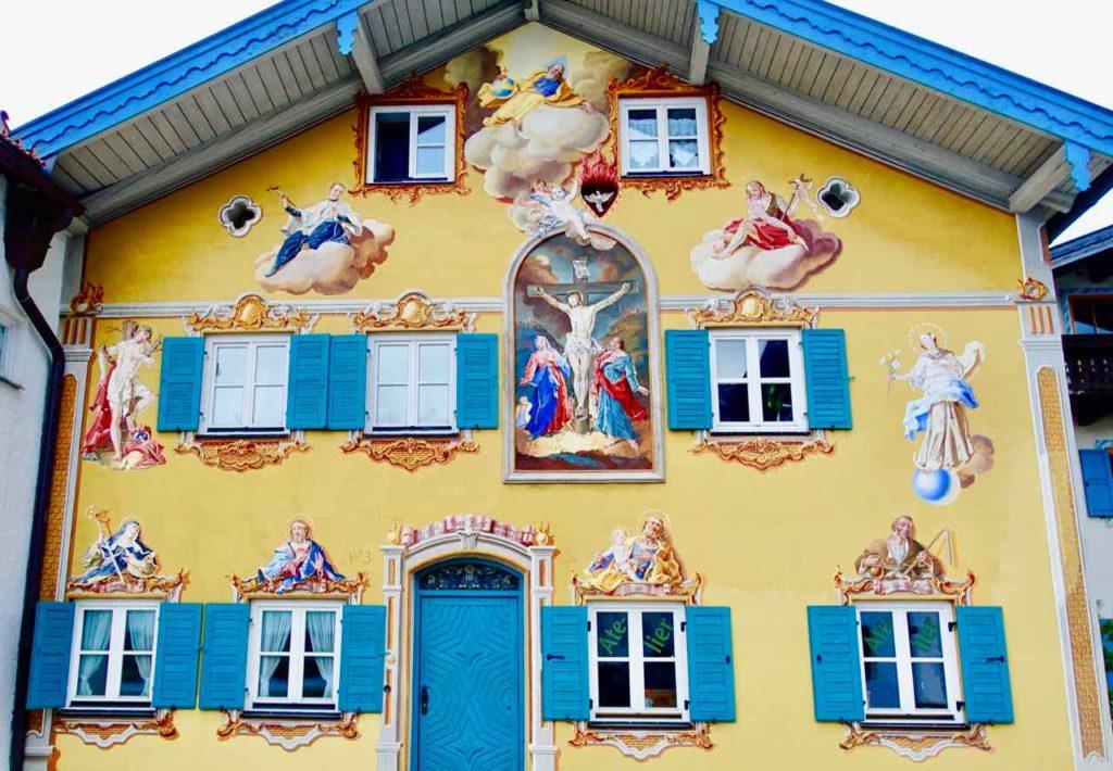 Lüftl-Malerei in Mittenwald